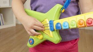 видео Детскую гитару игрушку купить в интернет-магазине. Игрушечная гитара.
