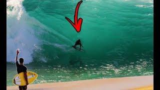 PRO SKIMBOARDING IN MASSIVE WAVES!!! (Worlds Most Dangerous Shore break) | JOOGSQUAD PPJT