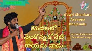 Kondalalo nelakonna | annamaiah sankeerthanalu | telugu devotional songs | lord venkateswara music