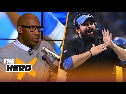 Bucky Brooks talks Matt Patricia's struggles with Lions, Aaron Rodgers injury prone | NFL | THE HERD