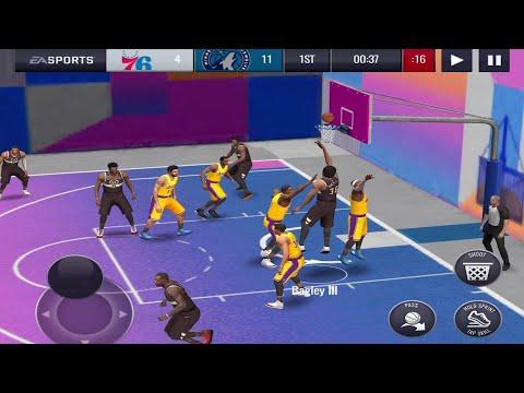 NBA LIVE Mobile Basketball Android Gameplay #2