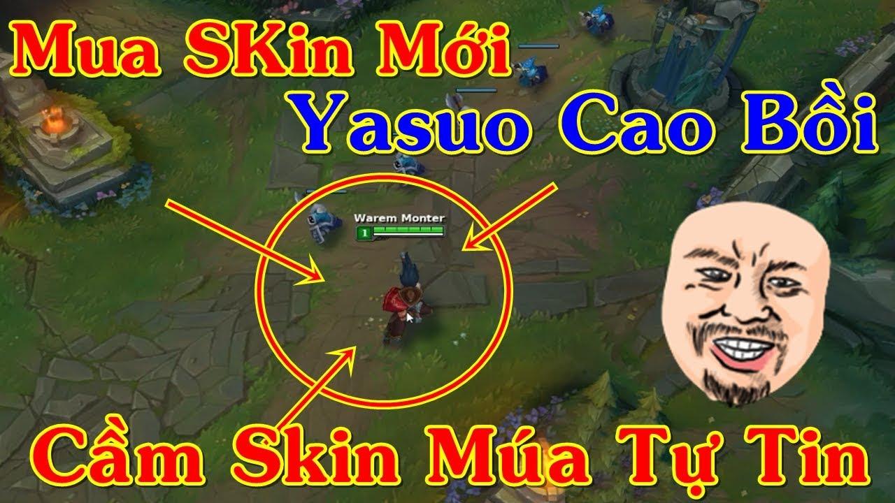 "Mới Mua Skin ""Yasuo Cao Bồi"" Chơi Tự Tin Gánh Team 20GG | Trâu Best Udyr"