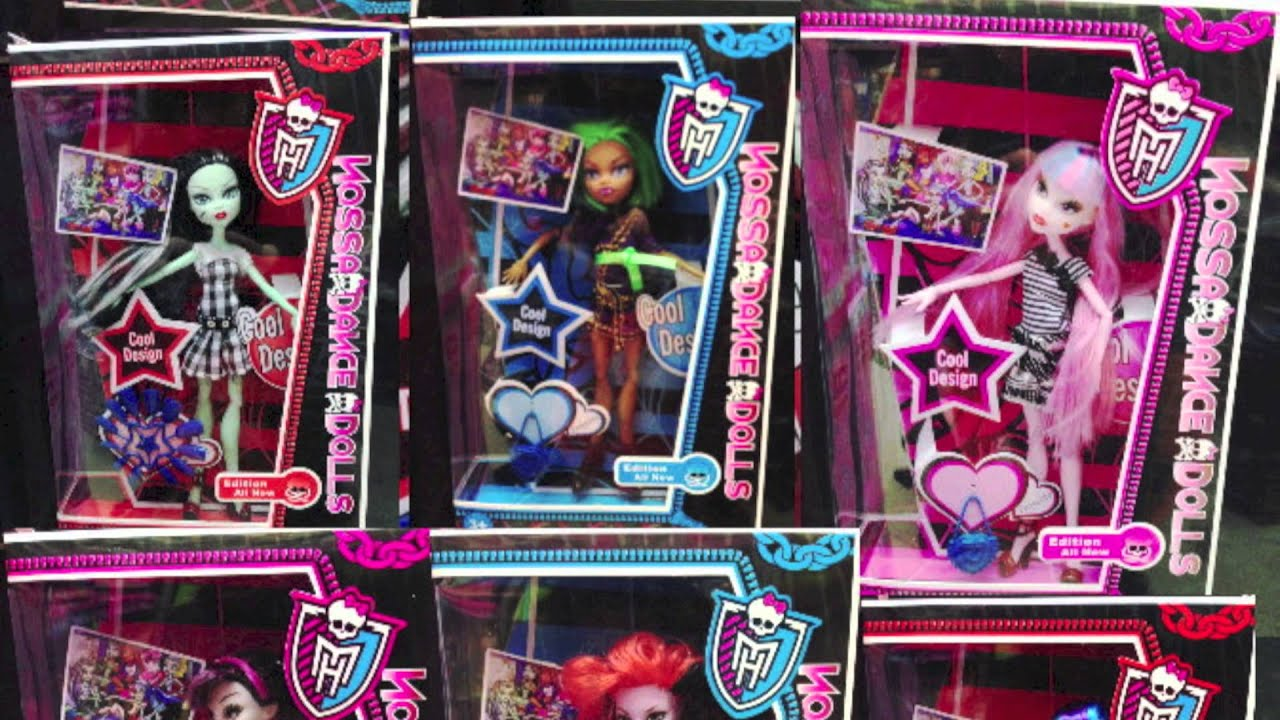 Monster High Ripoffs Five Copies Fake Dolls And Knock