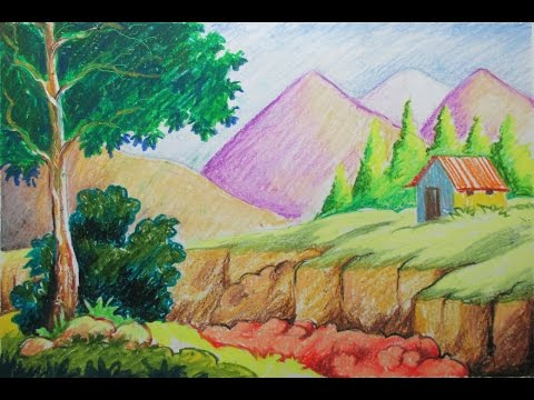 how to use oil pastels for beginners