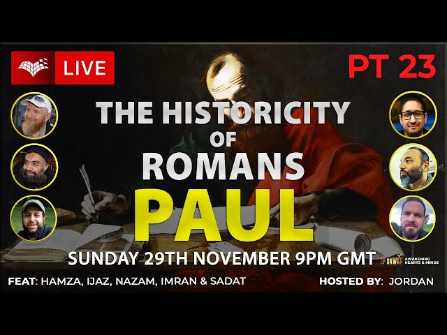 Testing The Historicity Of Romans   Paul