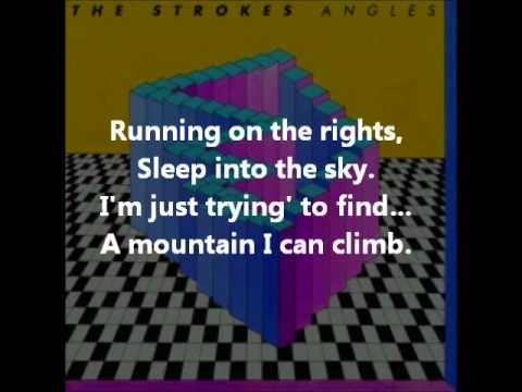 The Strokes - Machu Picchu ( with lyrics )