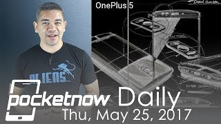 OnePlus 5 spec claims, Galaxy S8 Iris scanner update & more   Pocketnow Daily