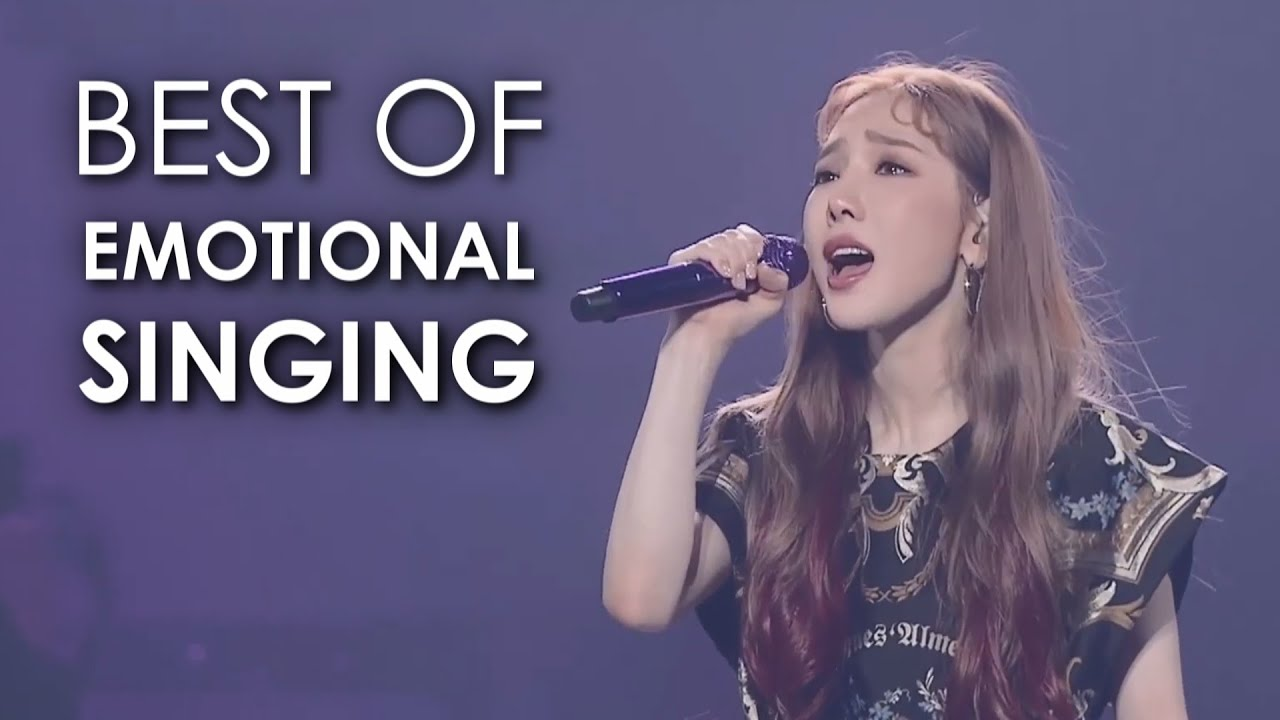 TAEYEON Best Of Emotional Singing (Concert Edition)