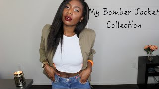 My Affordable Bomber Jacket Collection