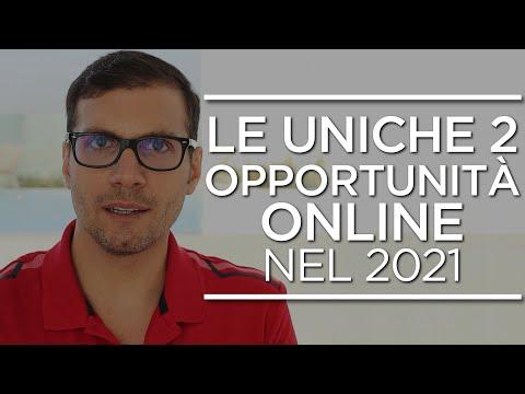 Le uniche 2 opportunità che offre l'online nel 2021