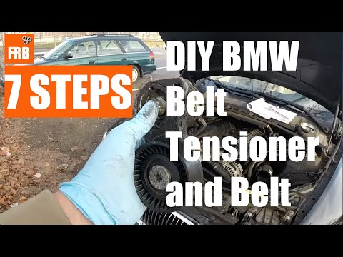 BMW 2007 328i (E90, E92) – Saved $300 – DIY Belt Tensioner Replacement by FRB