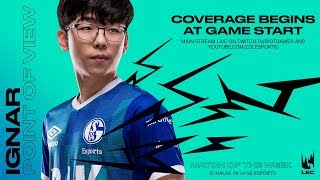 S04 Ignar | POV Stream | Week 6 Day 1 | LEC Spring Split (2019)