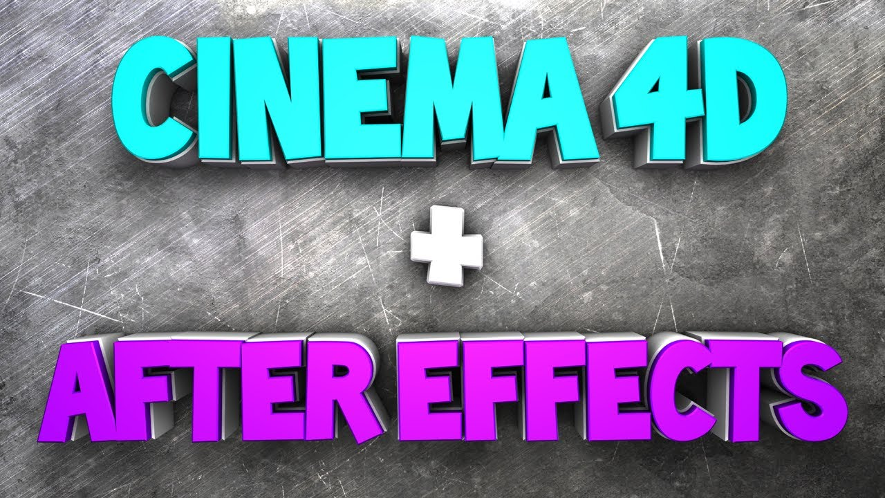 After Effects Tutorial: Cinema 4D Text in After Effects