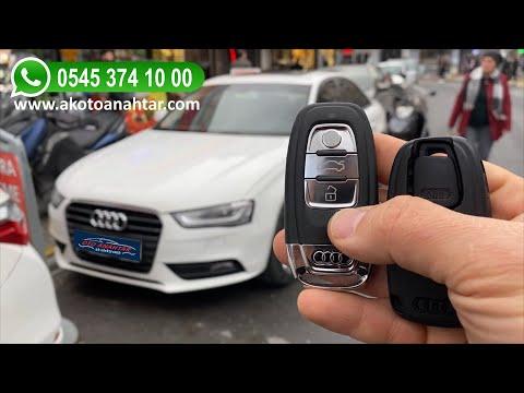 Audi Yedek Anahtar Yapımı   Yedek Kopyalama - Oto Anahtarcı İstanbul