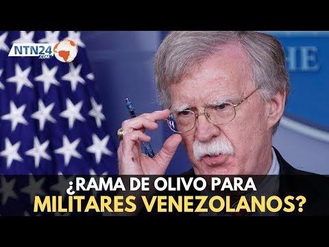 """Bolton: """"Maduro y sus secuaces enriquecen a sus patrones cubanos mientras que saquean Venezuela"""""""