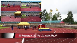 SM-kilpailu | M&N 16&17 v. | Iisalmi 26.8.17 | korkeushyppy