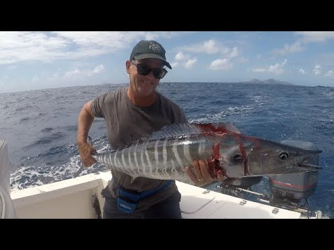 JIGGING & TROLLING the DEEP BLUE WATERS of ST. VINCENT - Offshore Fishing in the Caribbean