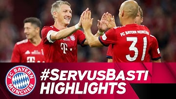 Schweinsteiger Scores Beauty in His Testimonial | FC Bayern vs. Chicago Fire 4-0 | Highlights