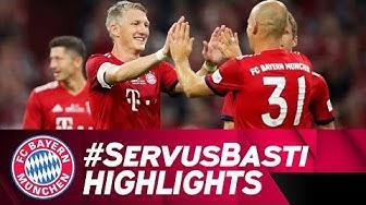Schweinsteiger Scores Beauty in His Testimonial | FC Bayern vs. Chicago Fire 4-0 | Highlights