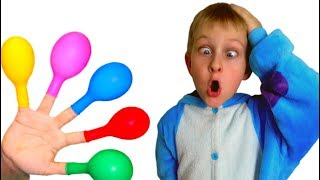 Tawaki kids pretend play with color ballons\Color songs\video for kids