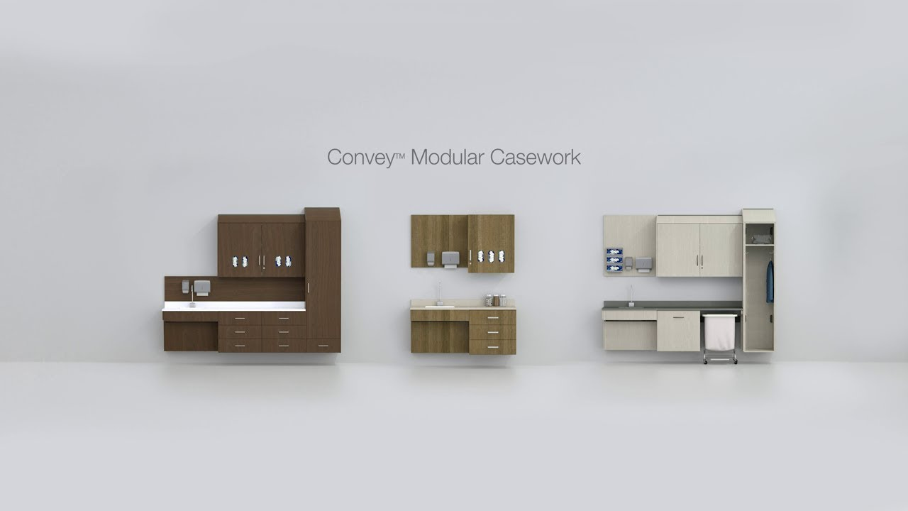 Convey Modular Casework Animation
