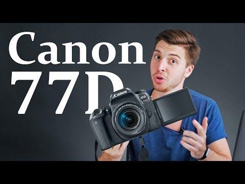 Canon 77D -