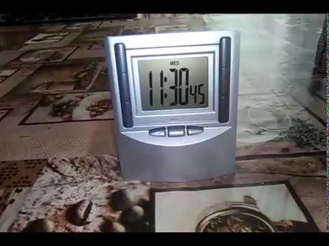 Обзор на настольные часы от Nako