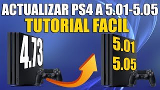 Actualizar PS4 a 5.05 0 5.01 Para el miraHEN   TUTORIAL FACIL LEER DESCRIPCION