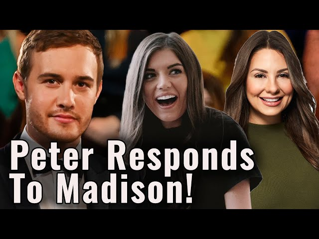 Peter Calls out Madison & Why They Were NOT Actually Together During the Bachelor Finale