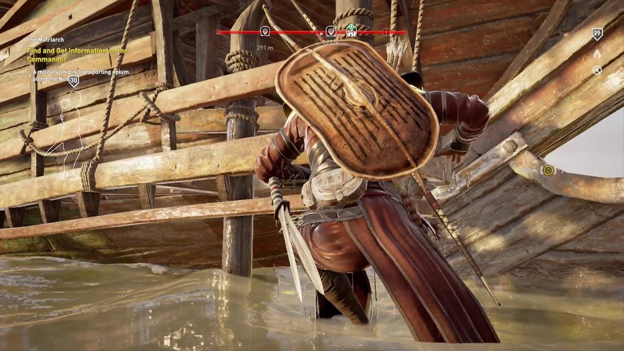 Assassin S Creed Origins Get Bronze Craft Increase Hidden Blade
