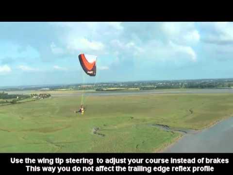 Speed bar & Reflex paramotor wings