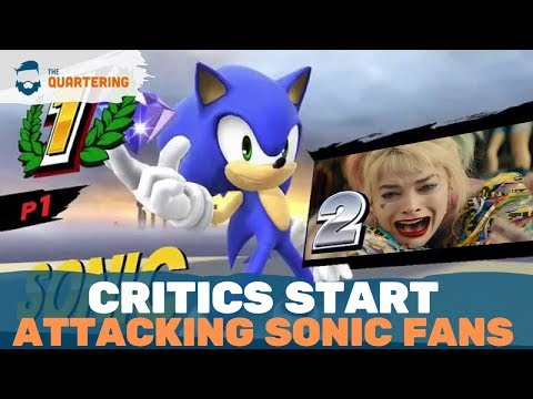 Critics Smear Sonic Movie Fans & Ignore It's #1 In History!