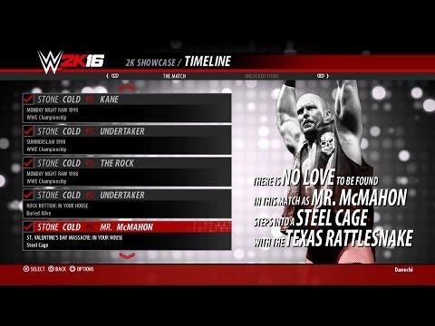 14.St. Valentine's Day Massacre:IYH - WWE 2K16 Austin 3:16 Showcase Walkthrough (PS4)