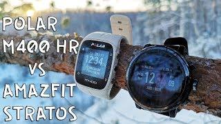 Amazfit Stratos vs. Polar M400 HR II Or buy Amazfit Bip?