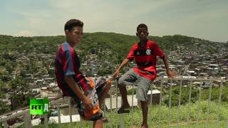 FavelaLive  Rio's children caught between football, drugs & police brutality (RT Documentary PROMO)