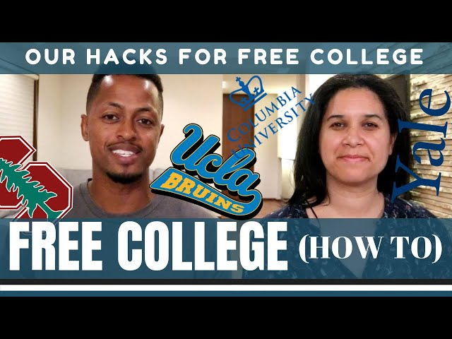 8 Ways to go to COLLEGE for FREE (or pay little) - Our Best Hacks to Graduate Debt Free
