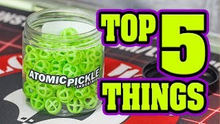 Top 5 Things to do with Atomic Pickles   Product Review   Lone Wolf Paintball Michigan