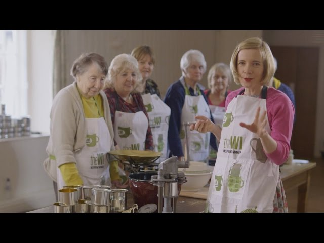 WWII canning machine – Cake Bakers & Trouble Makers: Lucy Worsley's 100 Years of WI – BBC Two
