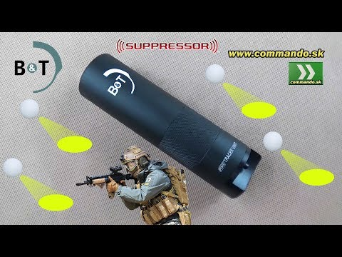 Airsoft B&T Tracer BB Suppressor Nasvetľovací tlmič