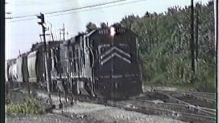 Classic Railroad Series 33 - UP and MP in Chicago June 1986