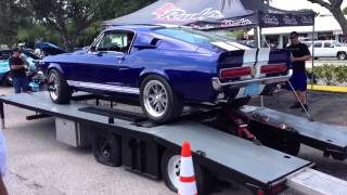Bill's 1967 Shelby GT500 on the Dyno