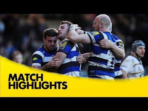Bath V Wasps - Aviva Premiership Rugby 2014/15