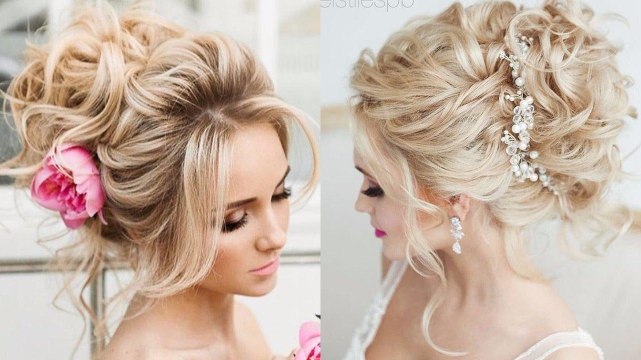 wedding hairstyles for short hair youtube bridal ...