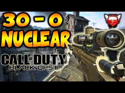 Call of Duty Black Ops 2: Flawless 30-0 Nuclear w/Friends! (Call of Duty Black Ops 2 Gameplay)