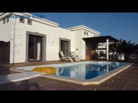 Lanzarote Villa Rentals- Book now on Sunpool.co.uk
