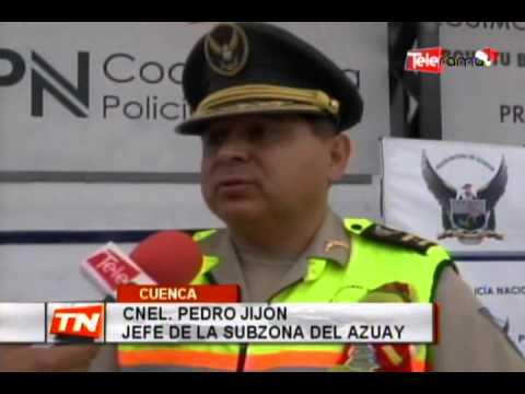 Policía incrementará seguridad en el centro histórico por navidad