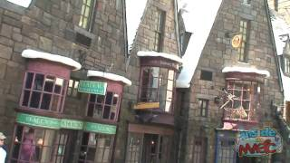 Walk through Hogsmeade Village at the Wizarding World of Harry Potter