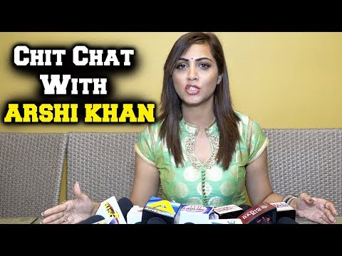 Exclusive Chit-Chat With Arshi Khan | Shilpa Shinde, Vikas Gupta, Upcoming Projects