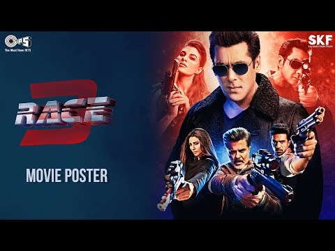 Race 3 Movie Action Poster | Salman Khan | Remo D'Souza | Trailer Out On 15th May 2018
