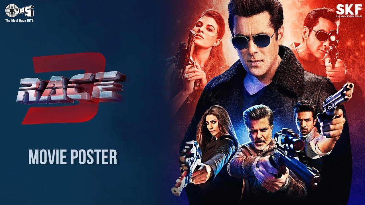 Race 3 Movie Action Poster Salman Khan Remo Dsouza Trailer